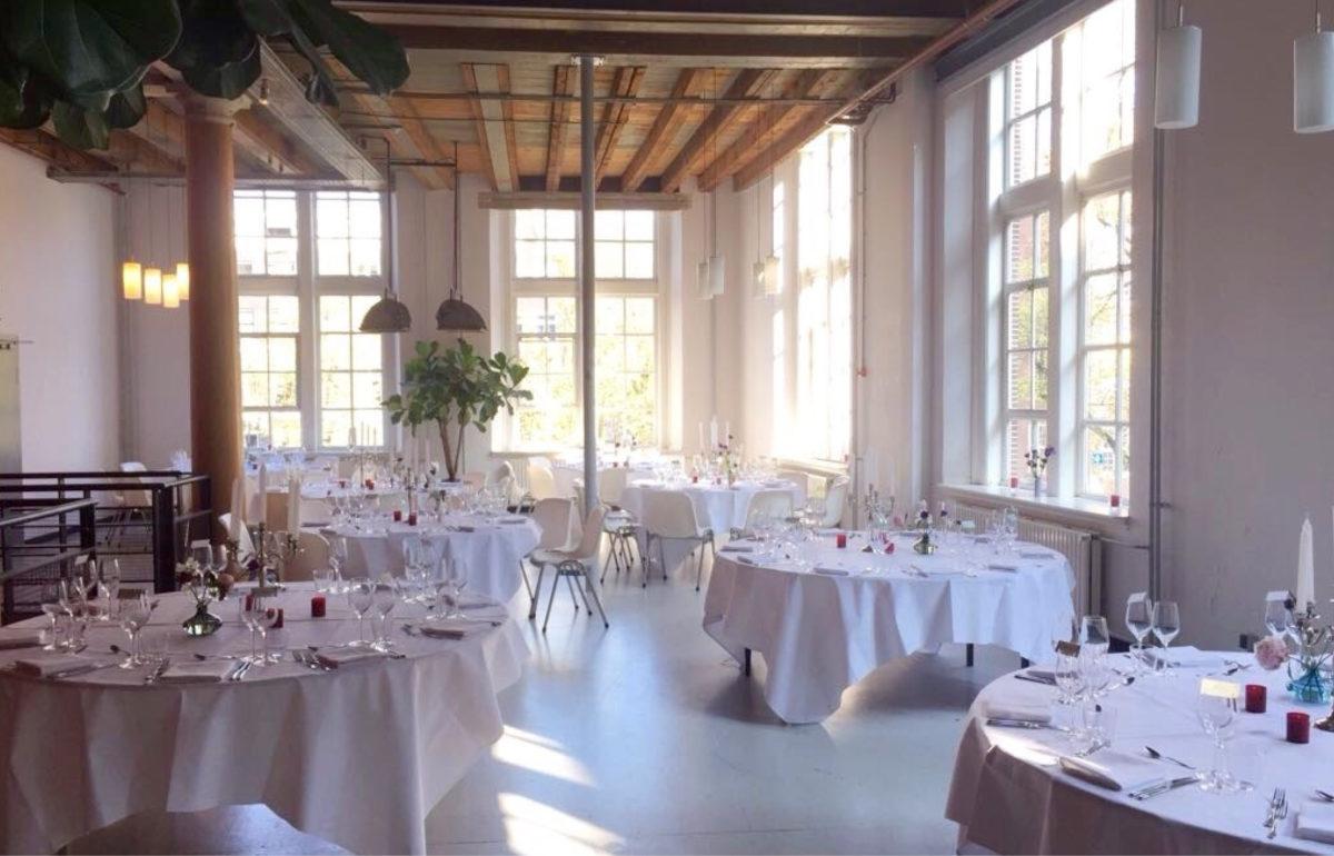 Amerpodia / Compagnietheater / Dinner in Foyer