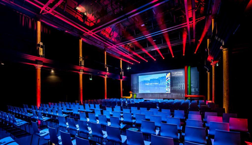Google in Compagnietheater - business presentation