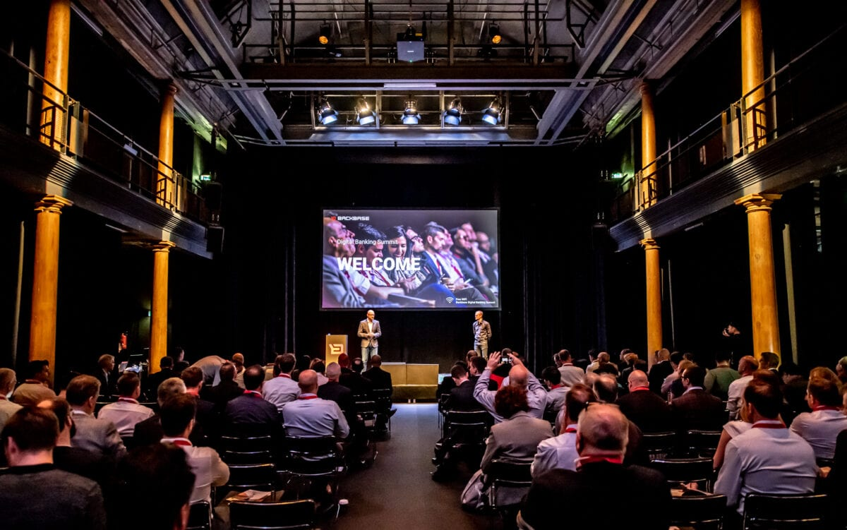 Backbase summit / presentatie