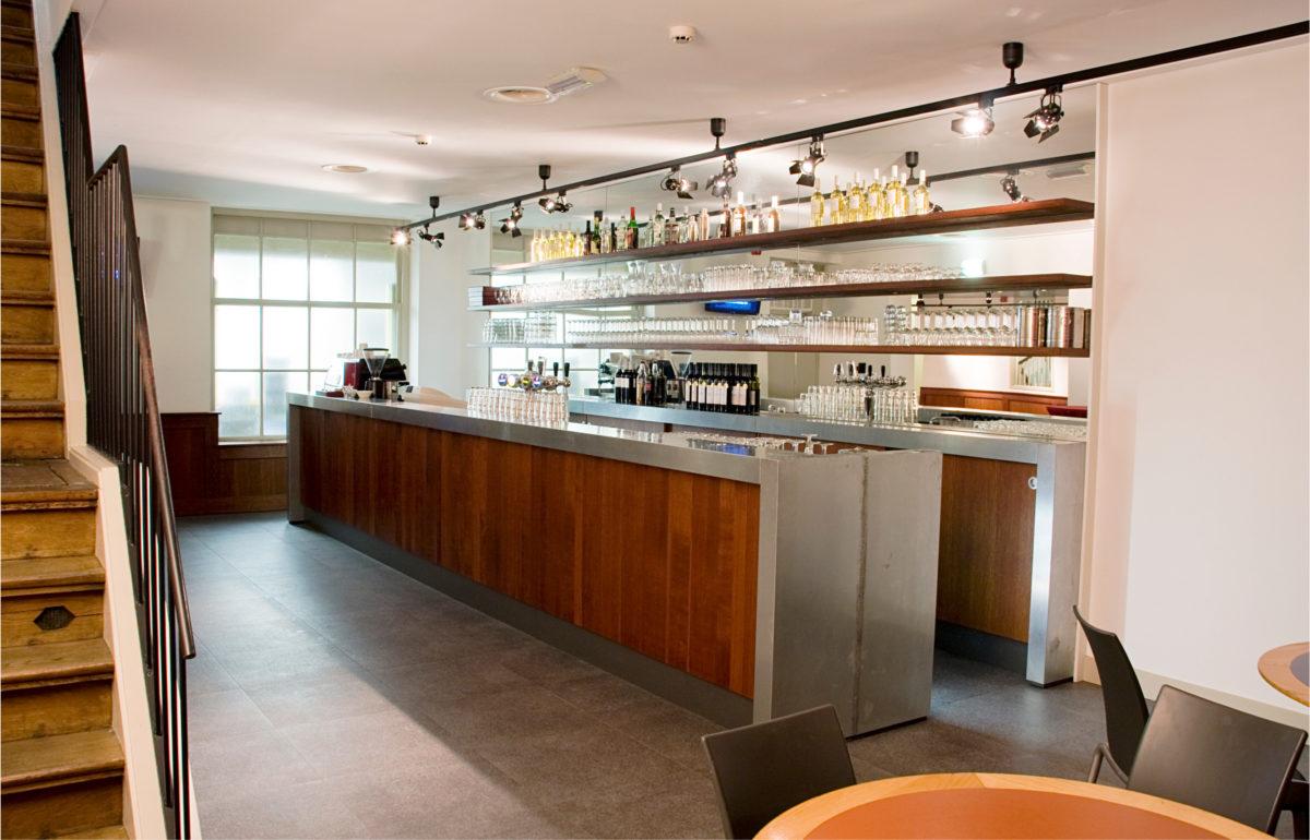 Amerpodia : Rode Hoed :Foyer en Café