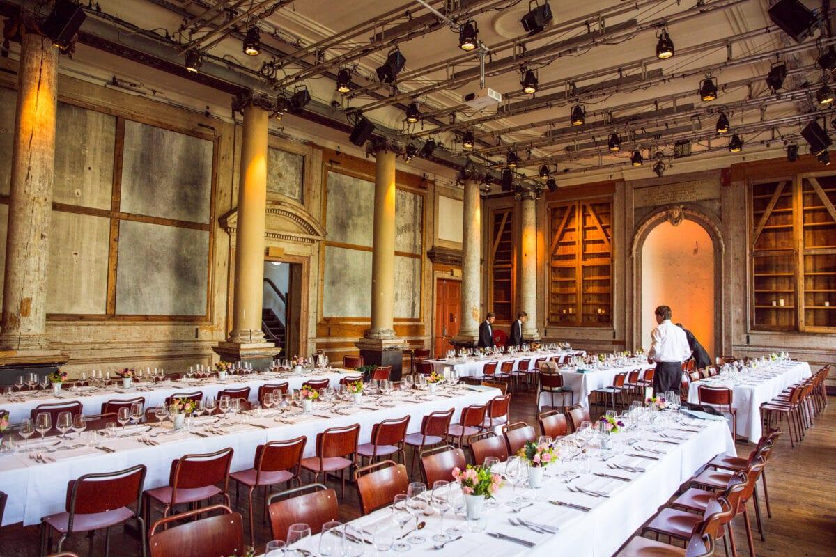 Diner in Felix Meritis