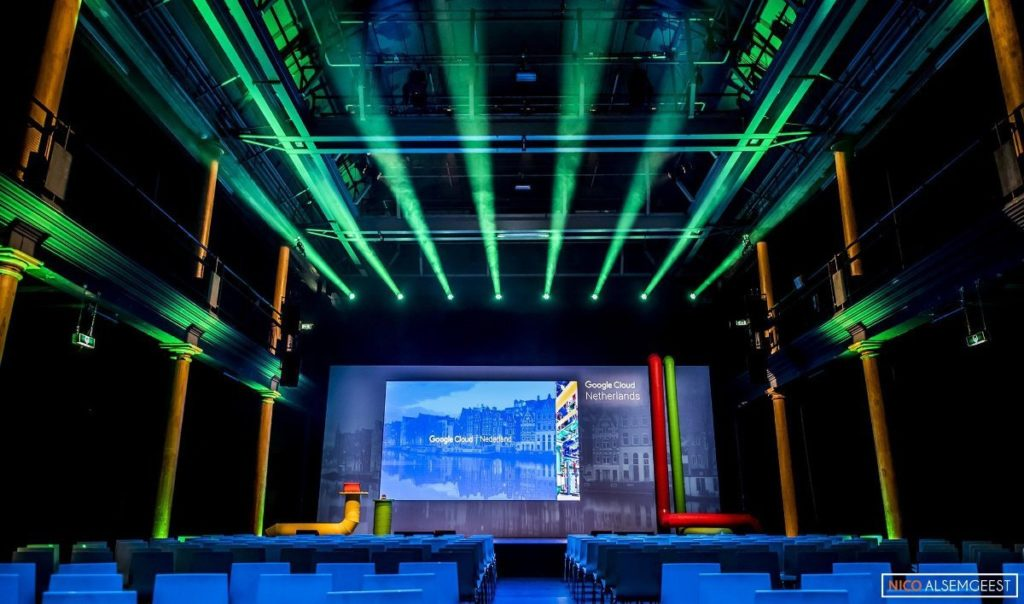 Google in Compagnietheater / presentatie
